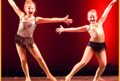 Musical theater performance is an important part of Kick Dance Studios learning.